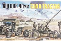 Bofors 40mm gun & Tractor - Pre-owned - Like new