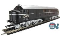 10001 BR plain black with no crest. July 1948 - April 1951.