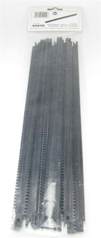 Rack 300mm long for center of rails in 'Rack and Pinion' system