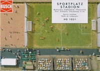 Sports Stadium HO scale