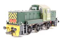 "Class 14 ""Teddy Bear"" D9500 BR Green as preserved. - Pre-owned - DCC fitted - Poor paint on headcode boxes"