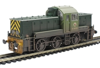 "Class 14 ""Teddy Bear"" D9535 BR Green (weathered)"