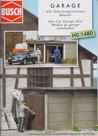 Garage HO scale