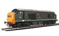 Class 23 Baby Deltic diesel D5903 in BR Green livery with full yellow ends and 4 character headcode