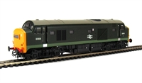 Class 23 Baby Deltic diesel D5908 BR Green large yellow ends with arrows
