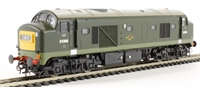 Class 23 Baby Deltic D5906 in BR green with small yellow panels