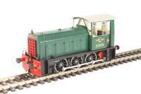 Class 05 Hunslet shunter D2574 in BR green