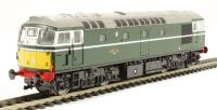 Class 26/1 diesel D5339 in BR green with small yellow panels