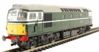 Class 26/1 diesel D5341 in BR green with small yellow panels