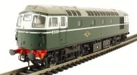 Class 26/0 diesel D5301 in BR green early version