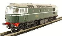 Class 26/0 diesel D5309 in BR green early version