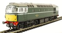 Class 26/0 diesel D5317 in BR green with small yellow panels