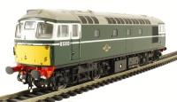Class 26/0 diesel D5302 in BR green with small yellow panels