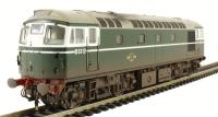 Class 26/0 diesel D5312 in BR green - weathered