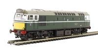 Class 27 BRCW Sulzer diesel D5381 in BR green with small yellow panels