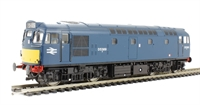 Class 27 BRCW Sulzer diesel D5389 in BR blue with small yellow panels
