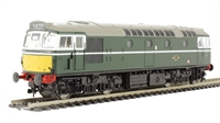 Class 27 BRCW Sulzer diesel D5361 in BR green with small yellow panels