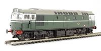 Class 27 BRCW Sulzer diesel D5353 in BR green