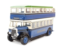 "Leyland Titan TD1 1930's d/deck bus with enclosed stairs ""Samuel Ledgard""."