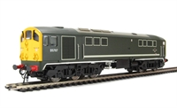 Class 28 Co-Bo Diesel D5707 BR Green with full yellow ends.