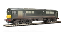 Class 28 Co-Bo Diesel D5718 BR Green with Small Yellow Panels (Weathered).