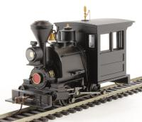 Porter 0-4-0 - Black Unlettered Horizontal Panel - DCC Sound