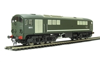 Class 28 Co-Bo Diesel D5711 in Full BR Green with modified windows.