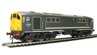Class 28 Co-Bo Diesel D5708 BR Green with Full Yellow Ends.
