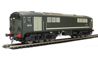 Class 28 Co-Bo Diesel D5714 Full BR Green - with modified windows.