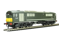 Class 28 Co-Bo Diesel D5702 BR Green with Small Yellow Panels.