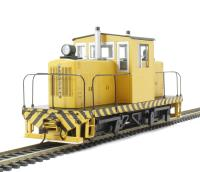 Whitcomb 50 Ton Diesel Painted Yellow & Black (DCC On Board)
