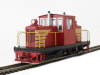 Whitcomb 50 Ton Diesel Painted Red & Yellow (DCC On Board)