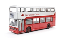 Leyland Titan single door bus 'East London Coaches'.