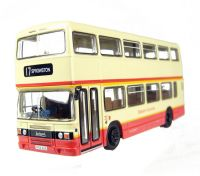 "Leyland Olympian d/deck bus ""Eastern Counties""."