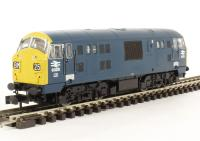Class 22 diesel locomotive 6326 in BR blue livery with full yellow ends