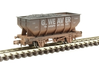 "21 Ton hopper wagon ""George Weaver"" - weathered"