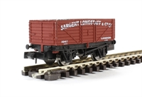 "7 plank wagon ""Sargent Longstaff"" in red"
