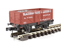"7 plank wagon ""Blackman Pavie & Ladden Ltd"" in red"