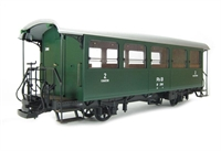 RhB Passenger Coach B2081. Country unknown