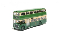 "AEC Renown (596 LCG Route 11) d/deck modern bus ""King Alfred"""