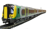 Class 350/1 Desiro 4-Car EMU 350 102 in London Midland livery