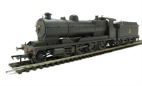 Class 3000 GWR ROD 2-8-0 3036 in BR black with early emblem - weathered