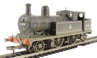 Class 5 L&YR 2-4-2T 50795 in BR lined black with early emblem (weathered). DCC Fitted
