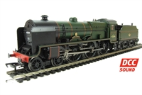 "Class 6P Patriot 4-6-0 45504 ""Royal Signals"" in BR green with late crest. DCC Sound Fitted"