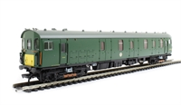 Class 419 Motor Luggage Van (MLV) in BR Southern Region green with yellow panel