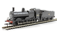 Class 3F 0-6-0 43257 in BR black with early emblem