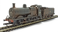 Class 3F 0-6-0 43620 in BR black with late crest - weathered. DCC On Board