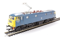 Class 85 (AL5) Bo-Bo Electric E3056 in BR Blue with single pantograph.