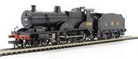 Class 1000 Midland Compound 4-4-0 1189 in LMS black
