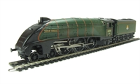 "Class A4 4-6-2 60021 ""Wild Swan"" in BR lined green with early emblem"